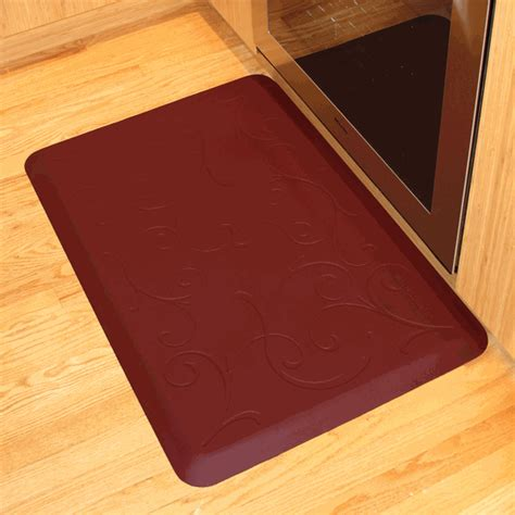 cushioned floor mats for kitchen poliuretano melhor tapete anti fadiga tapetes cadeira de 8527