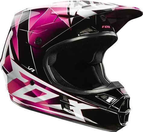 pink motocross helmet 109 47 fox racing womens v1 radeon helmet 2014 small pink