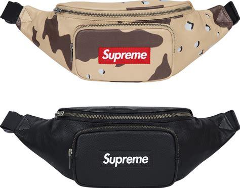waist bag supreme murah supreme leather waist bag