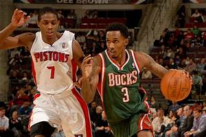 The Bucks and Pistons swap Brandon Jennings and Brandon ...