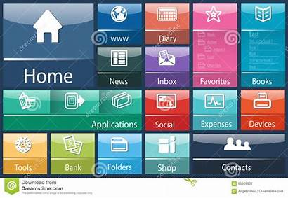 Computer Interface Generic Software Soft Abstract Template