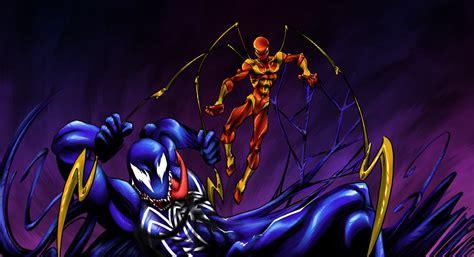 Iron Spider Vs Venom