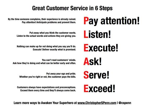 Definition Of Great Customer Service Skills by 6 Steps To Great Customer Service Insight Customer