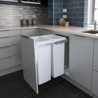 can you put an island in a small kitchen hideaway kitchen bin gallery waste recycling bins 9959