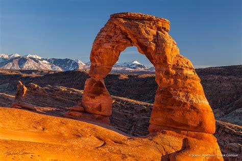 delicate arch arches national park scenic aperture