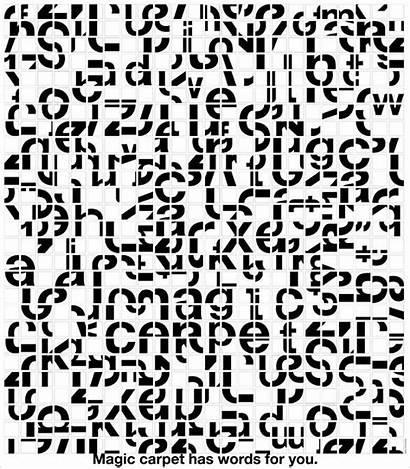 Magic Kang Ryong Goo Letters Digitalisierung Carpet
