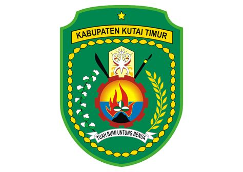 logo kabupaten kutai timur vector  logo vector