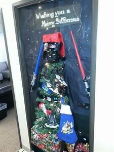 Star, Wars, Door, Decorating, Idea, For, Christmas