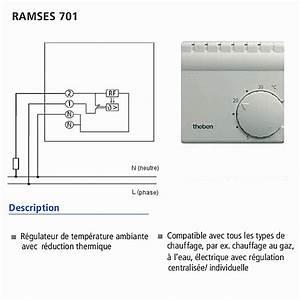 Radiateur Electrique Avec Thermostat : schema branchement thermostat tresco ~ Edinachiropracticcenter.com Idées de Décoration