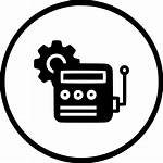 Icon Motor Device Automatic Energy Svg Setting