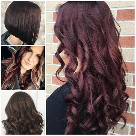 couleurs uniques de cheveux d acajou pour 2018 hair makeup mahogany hair mahogany color