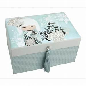 Boite À Bijoux Design : kokeshi kimmidoll accessoires miyuna boite bijoux ~ Melissatoandfro.com Idées de Décoration