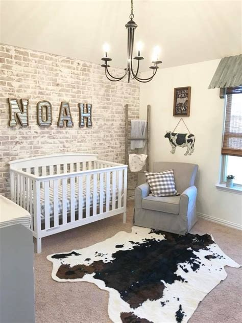 Kinderzimmer Wand Ideen Junge by Farmhouse Nursery Gray Nursery Baby Bedroom Baby Room