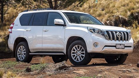 toyota land cruiser prado car review youtube