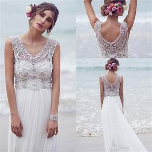 bohemian custom made anna campbell 2016 wedding dresses With custom made wedding dresses online