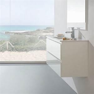 Meuble 25 Cm De Profondeur : meuble salle de bain 100 cm faible profondeur plan ~ Edinachiropracticcenter.com Idées de Décoration