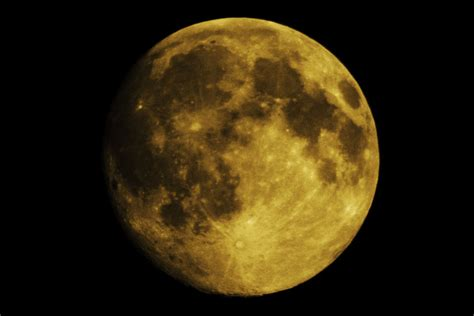 yellow moon wallpaper  desktop weneedfun