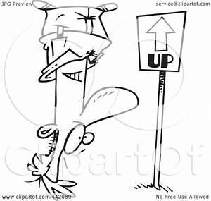 Royalty-Free (RF) Clip Art Illustration of a Cartoon Black ...
