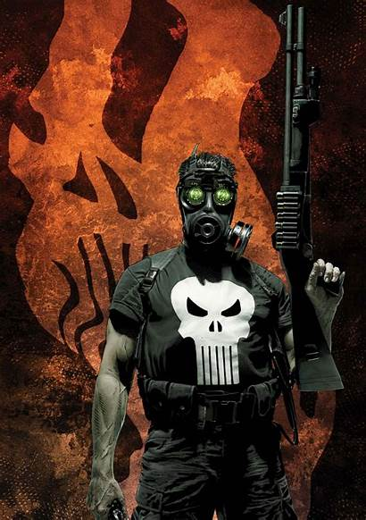 Punisher Marvel Comics Wallpapers Phone Background Fanpop