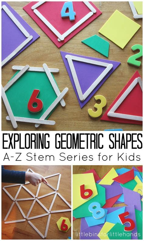 geometric shapes activity math and stem ideas for 122 | 34e2af1b616059cd5298831f20084f69