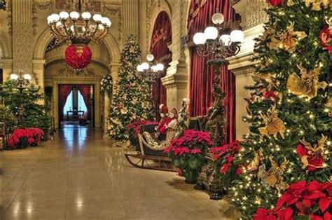 christmas   newport mansions newport mansions