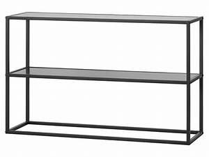 Regal Metall Schwarz : woood teun metall regal schwarz mit 2 b den 76x120x35cm ~ Udekor.club Haus und Dekorationen