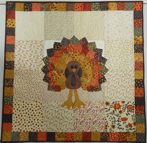 missouri quilt co tutorials turkey made using awesome by gervais fabric and