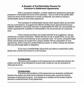Sample confidentiality agreement 6 documents in pdf for Confidentiality policy template