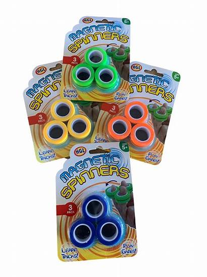 Rings Magnetic Spin Toys Toy Sensory Fidget