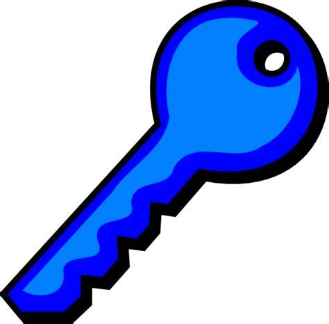 Clipart Key Blue Key Clip At Clker Vector Clip