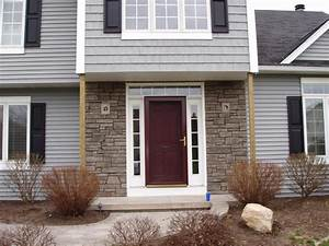 stone veneer entry door sides 2 from Gabriel Masonry