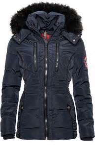 designer parka damen navahoo designer damen winter jacke parka mantel teddyfell warm gefüttert b327