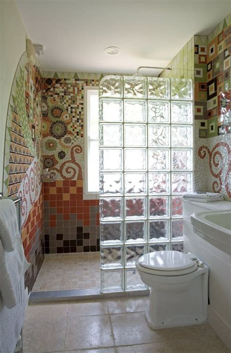 add privacy   bathroom  installing glass blocks