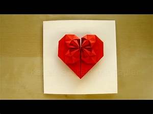 Geschenk Selber Basteln : geschenk basteln origami herz selber machen basteln mit papier diy geschenkideen youtube ~ Watch28wear.com Haus und Dekorationen