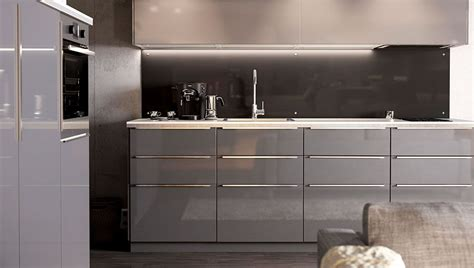 Ikea Küche Knöpfe by Grey Ikea Kitchens Search Kitchen Ideas Grey