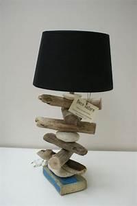 Lampe Chevet Bois Flotté : lampe bois flotte 7 lampe bois flotte driftwood crafts top furniture stores et lamp shades ~ Melissatoandfro.com Idées de Décoration