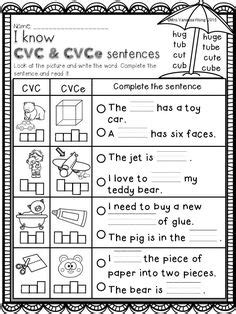 Summer Review  Literacy Pack (kindergarten) Words