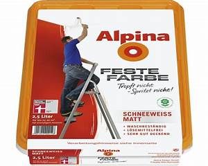Alpina Feste Farbe : alpina feste farbe matt wei 2 5l bei hornbach kaufen ~ Orissabook.com Haus und Dekorationen