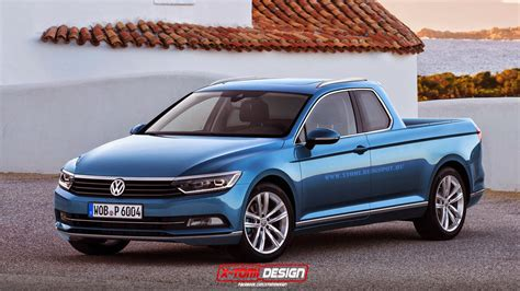 New Vw Truck by All New Vw Passat Given The Treatment