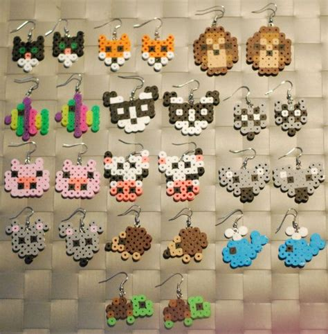 whale earring 37 best images about maki on perler bead