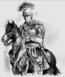 Ancient Roman Soldier Drawing