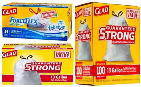 glad trash bag coupons target deals