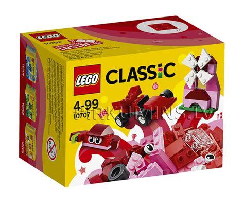 10707 LEGO® Classic Sarkanais radošais komplekts, no 4 ...