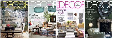 Home Decor Magazines. Top A Black And White Trellis
