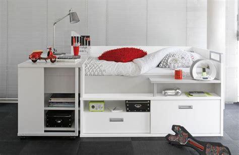 lit pour adolescent avec de nombreux rangements et un bureau int 233 gr 233 id 233 es d 233 co pour la