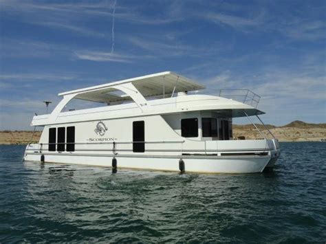 Houseboat Yacht by 2008 Desert Shore Yachts 70 X 18 Houseboat Power Boat