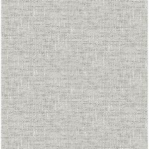 Light Grey Peel And Stick Tile Nu2873 Grey Poplin Texture Peel And Stick Wallpaper By
