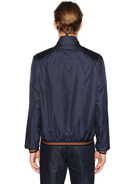 lyst moncler lamy lightweight nylon bomber jacket