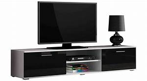 Meuble Tv 180 Cm : saho meuble tv 180 cm ~ Teatrodelosmanantiales.com Idées de Décoration