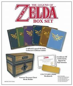 Prima Games Offering Collector U0026 39 S Treasure Chest Of Zelda